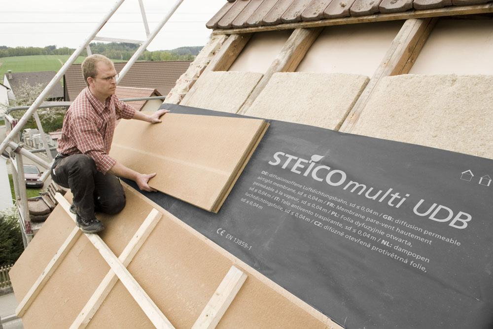 Sous toiture rigide Steico Special