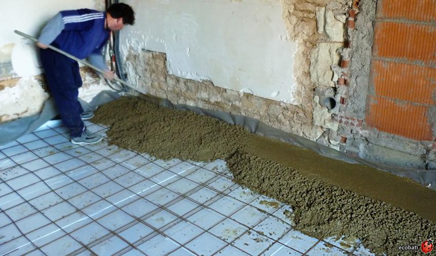 b u00e9ton de terre  u00e0 base d u0026 39 argile pour une inertie thermique naturelle