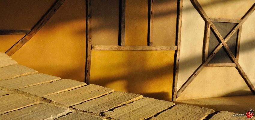 Les enduits d 39 argile int rieur argilus ecobati for Enduit de couleur interieur