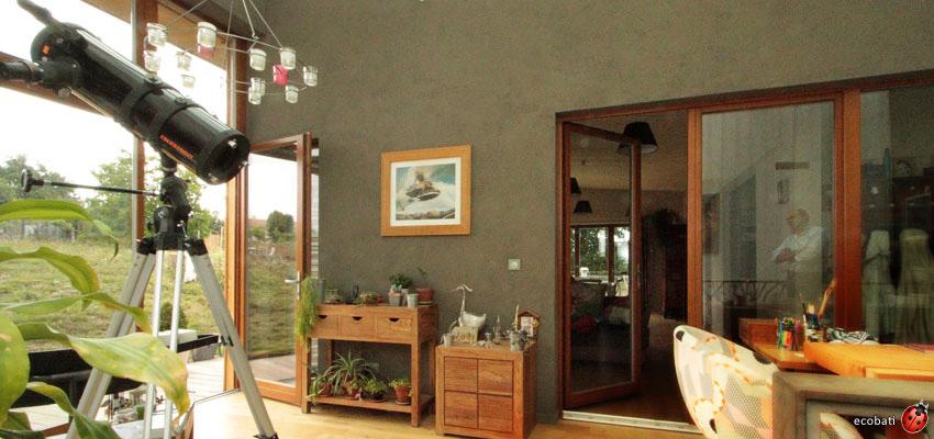 Argilus gamme design est compos de 165 teintes ecobati for Enduit mural decoratif interieur