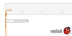 schéma de pose du B-Fix Border