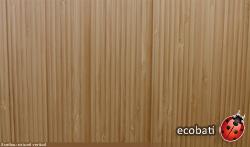 Différence esthétique entre le bambou horizontal et vertical