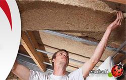 Le chanvre bio fib prêt à placer manuellement dans l'espace d'isolation de vos toitures, murs etc... sain et plus efficace que beaucoup de produits conventionnels