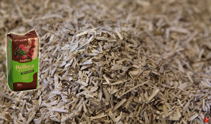 Paillage naturel - mulch - pour le jardin - Ecobati
