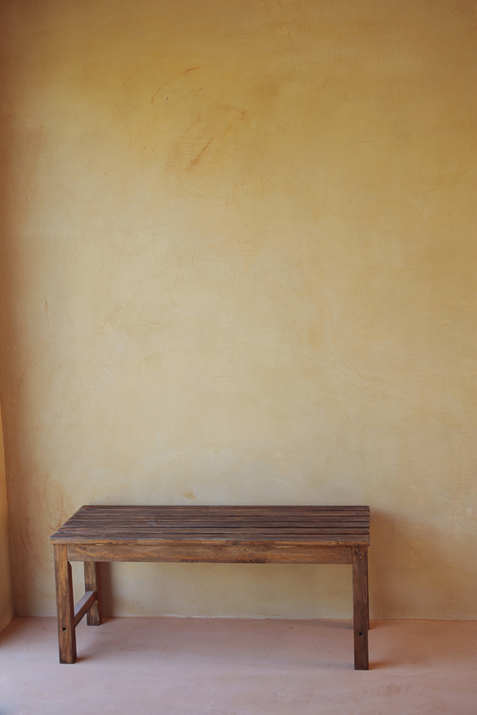 sol et mur en Claystone