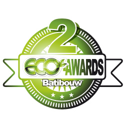 2° place eco-award BATIBOUW 2011