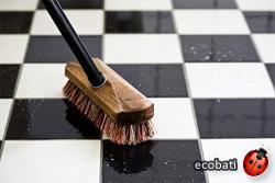 bendurol forte pour le nettoyage profond du vrai linoleum