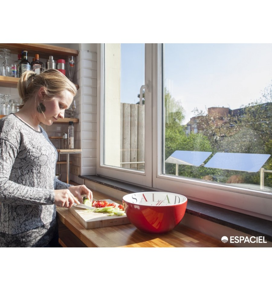 R flecteur de lumi re pour balcon espaciel ecobati - Reflecteur de lumiere fait maison ...