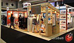 ecobati était à énergie et habitat à Namur ce week-end de Novembre afin de promouvoir l'habitat écologique