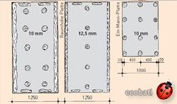 mortier colle flexible fermacell pour les panneaux fermacell ou de liége expansé