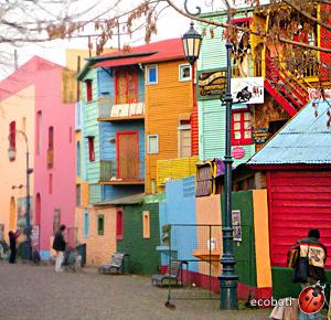 Le caminito de Buenos Aires haut en couleurs par © Raphael Levy