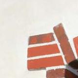 briques pressées détail
