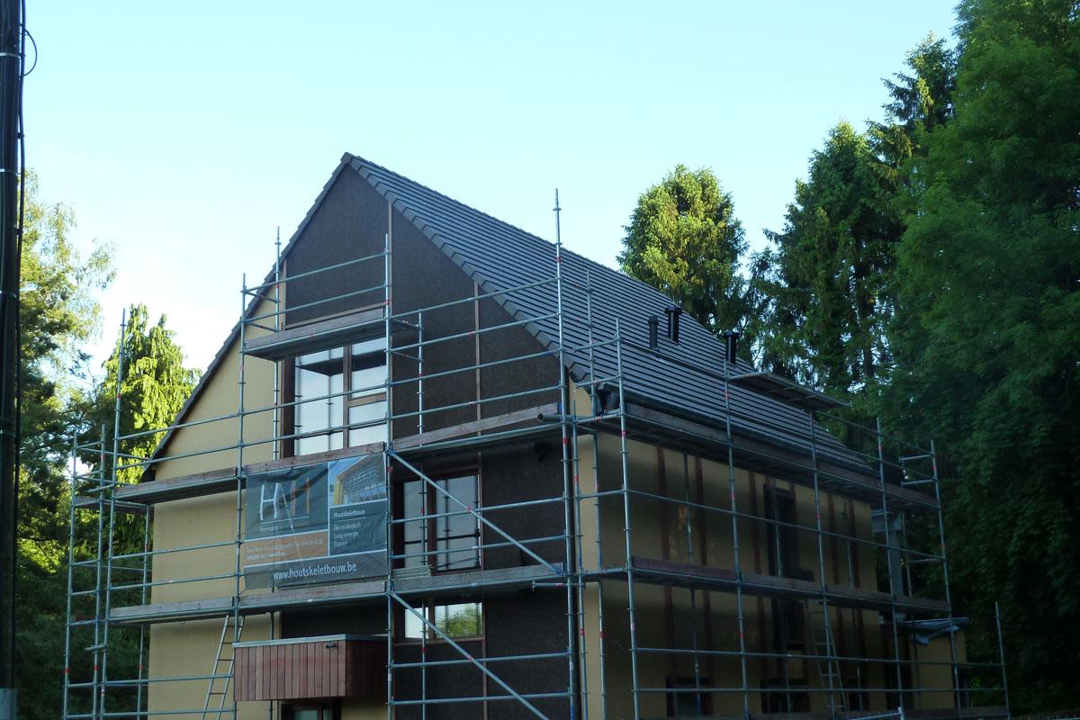 Isolation par l'extérieur avec l'isoliège façade