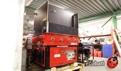 machine à insuffler la ouate de cellulose à louer chez ecobati