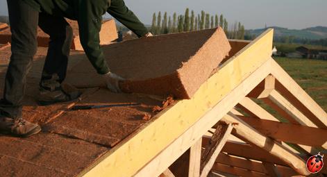 fibre de bois toiture ecobati