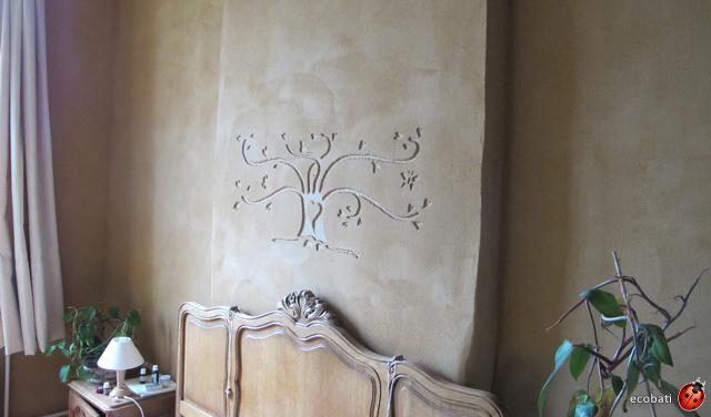Argile sur les murs for Mur crepi interieur
