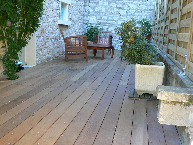Terrashout ecobati - Bedek een houten terras ...