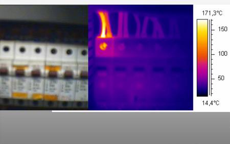thermographie hoffman et dupont boitier électrique