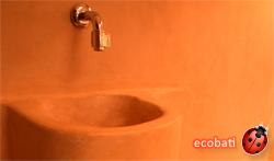 tierrafino tadelakt un enduit de finition pour les salles de bains écologique