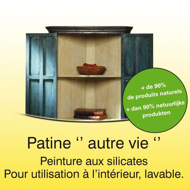Patine autre vie peinture pour meuble for Peinture patine pour meuble