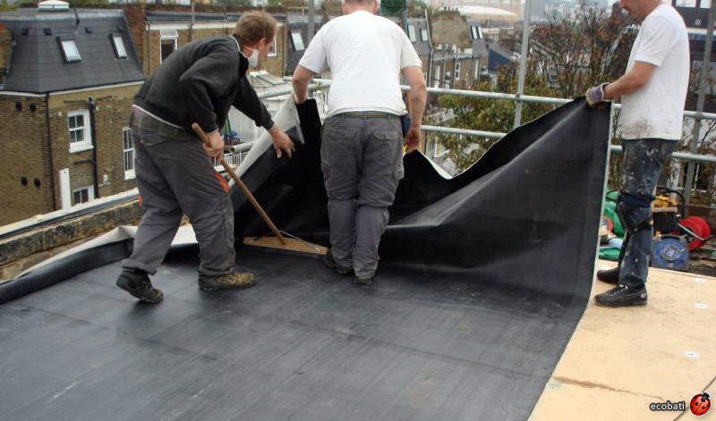 Epdm 233 Tanch 233 It 233 Toiture 233 Tang Ecobati