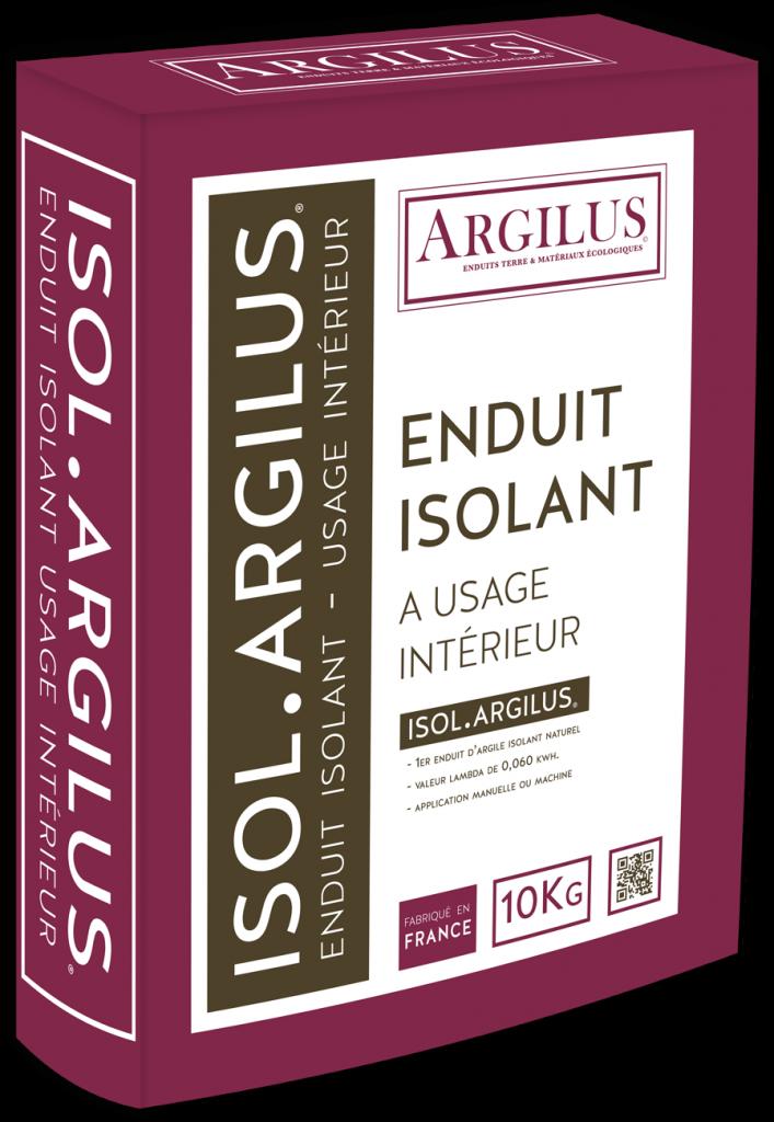 Isol argilus enduit isolant base d 39 argile ecobati for Enduit isolant thermique interieur