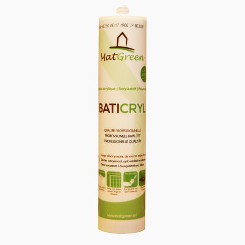 matgreen baticryl mastic acrylique pour joint tanch it ecobati. Black Bedroom Furniture Sets. Home Design Ideas
